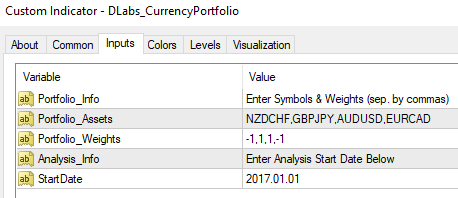 Constructing a Currency Portfolio in MetaTrader | Darwinex Blog